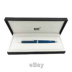 Montblanc 119351 PIX Petrol Blue Ballpoint Pen