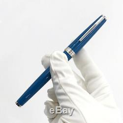 Montblanc 119583 PIX Petrol Blue Rollerball Pen