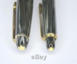 Montblanc 144/172 Gray Striped Set Pen