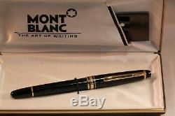 Montblanc 144 Fountain Pen Medium Nib 14K