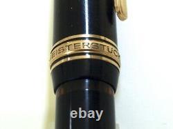 Montblanc 146 Meisterstück Black Piston Fp Vintage