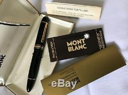 Montblanc 149 14C Broad Nib, Friction fit Piston-Early1960-Excellent Condition