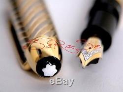 Montblanc 149 Füller Füllfederhalter 18kt. /750 Solid Gold Fountain Pen