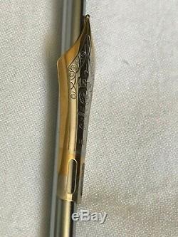 Montblanc 149 Pen's Nib only, (Bi-color, 18K, Medium size). Exc. Condition