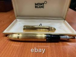 Montblanc 149 Solid 18k Gold Fountain Pen