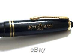 Montblanc 244 Piston In Black Vintage