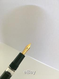 Montblanc 3-42 G grün Füllfederhalter 14C F green fountain pen
