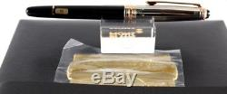 Montblanc 75th Anniversary 1924 Fountain Pen Silver Rose Gold Diamond Sealed