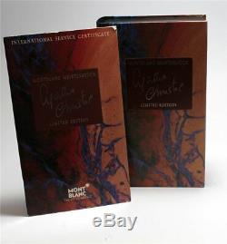 Montblanc Agatha Christie 1993 Meisterstück Füller Füllfederhalter pen 18K M