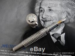 Montblanc Albert Einstein 18k Gold Artisan Skeleton Limited Edition 99 Year 2011