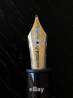 Montblanc Alexandre Dumas Son (wrong Signature) 3 Pc Pen Set Mint Boxed #1957