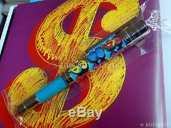 Montblanc Artisan Limited Edition 100 Andy Warhol Pen Dollar Sign Sealed M