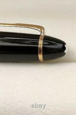 Montblanc Black Resin Meisterstuck Le Grand M146 Fountain Pen