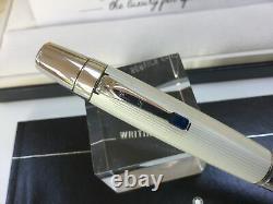 Montblanc Boheme Blanche white ballpoint pen + boxes