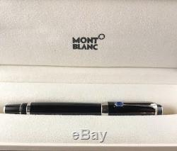 Montblanc Boheme Bleu Sapphire Stone & Platinum Plated Trim Rollerball Pen