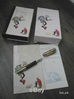Montblanc Carlo Collodi Pinocchio Writers Limited Edition Ballpoint Pen Set New