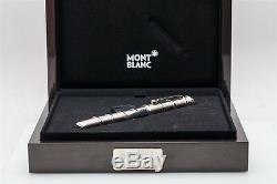 Montblanc Copernicus 18k White Gold FANCY YELLOW Diamond 888 Pen RARE & BOX