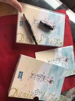 Montblanc Daniel Defoe Fountain Pen (Limited Edition) 110504/Ret $1110/NIB