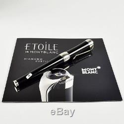 Montblanc Etoile De Montblanc Fountain Pen With Diamond & Gold Nib # 103377