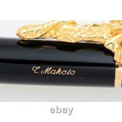 Montblanc Fountain Pen Golden Dragon 2000 / stationary Writing utensils