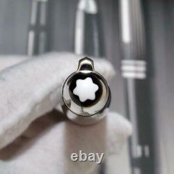 Montblanc Fountain Pen Meisterstuck 146 Solitaire LeGrand Carbon Steel 18K Fine