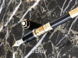 Montblanc Füllfederhalter Art Edition 4810 14k 585 Gold Smaragd Fountain Pen