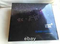 Montblanc Great Characters Limited Edition Albert Einstein Roller Ball New