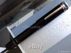 Montblanc Heritage Collection 1912 Black Safety Fountain Pen M