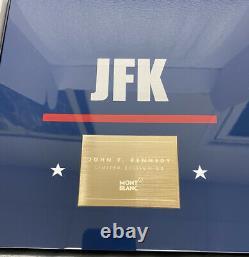 Montblanc JFK John F. Kennedy 18k Gold LE 83 Fountain Pen SEALED