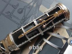 Montblanc James Watt Skeleton Artisan Limited Edition 83 Fountain Pen Year 2014