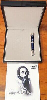 Montblanc Johannes Kepler High Pede Serpentari 39 Limited Füller Artisan Pen