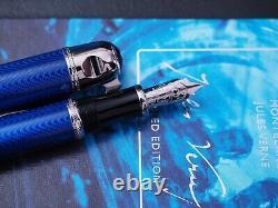 Montblanc Jules Verne Fountain Pen, Writers Edition, 18k nib
