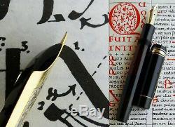 Montblanc L 139 1st Issue Fountain Pen 1938 14C 250 EF Full Flex Nib. ULTRA RARE
