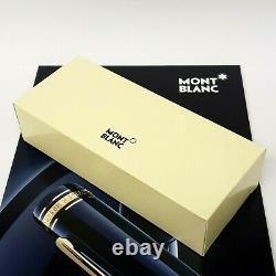 Montblanc Le Petit Prince Platinum Ballpoint Pen & Mont Blanc Gift Box