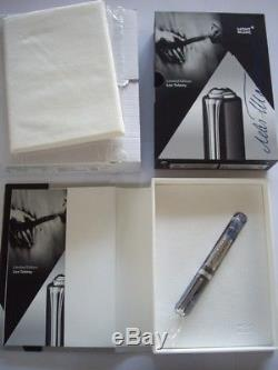 Montblanc Leo Tolstoy fountain pen limited edition mont blanc writers 2015