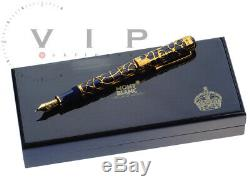 Montblanc Limited Edition 4810 The Prince Regent Füller Fountain Pen Stylo Plume