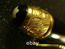 Montblanc Limited Edition Fountain Pen Voltaire Medium Pt New Launched In 1995