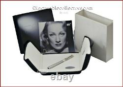 Montblanc Marlene Dietrich 1901 22 Diamonds Sapphire Le Fountain Pen 2007 M