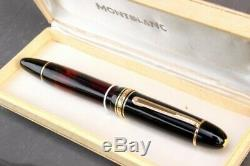 Montblanc Masterpiece 149 Celluloid Telescopic & Transparent Model Very Rare