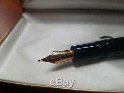 Montblanc Meisterstuck 146 Fountain Pen Gold 14k Nib M 4810