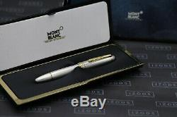 Montblanc Meisterstuck 146 LeGrand AG925 Solitaire Barley Fountain Pen