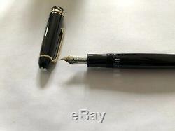 Montblanc Meisterstuck 146 Legrand Gold Line Fountain Pen 14K medium nib