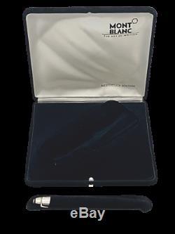 Montblanc Meisterstuck 146 Silver Body Plat P Clip Fountain Pen M 2001