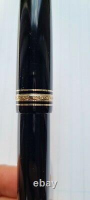 Montblanc Meisterstuck 149 18K F Nib Fountain Pen Excellent Condition