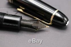 Montblanc Meisterstuck 149 Fountain Pen 14c Bi-Tone Nib 1975-85