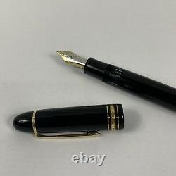 Montblanc Meisterstuck 149 Fountain Pen 18K Nib M Germany Vintage