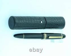 Montblanc Meisterstuck 149 Fountain Pen, M Leather Case