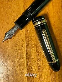 Montblanc Meisterstuck 149 Fountain Pen with 18K Fine Nib, V. Well Preserved