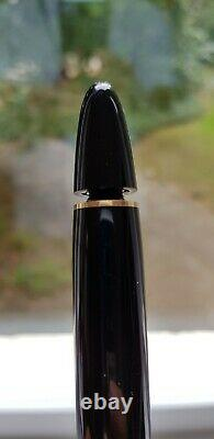 Montblanc Meisterstuck 149 Gold Trim Fountain Pen. B Nib. Excellent Condition