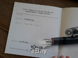 Montblanc Meisterstück Andy Warhol Kugelschreiber Ballpoint Pen Great Charakters
